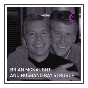 Brian McNaught and husband Ray Struble