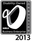 Disability Owned Business Enterprise 2013